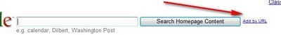 add feed by url iGoogle