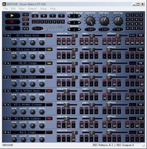 Freeware Groove Drum Station DT-011