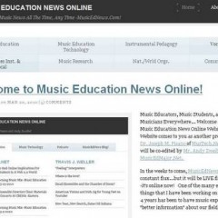 MusicEdNews.Com Launched Today! -Fresh Music Education News