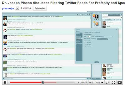 Filter Twitter By Keyword Or Username For Conferences Or Classes