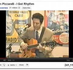 Interesting YouTube Music Video Series #15 – John Pizzarelli – He Definitely Has Rhythm!