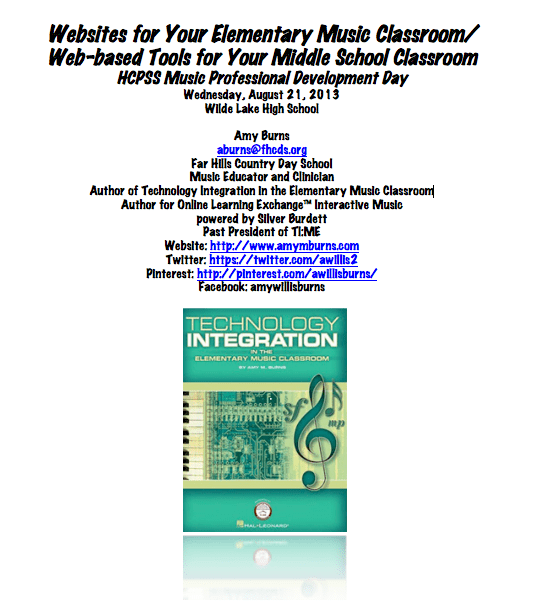 Elementary Classroom Websites ~ Websites for your elementary music classroom