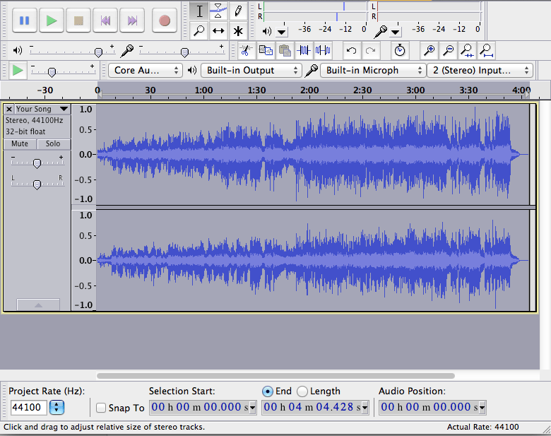 Audacity in the Elementary Music Classroom | Music